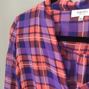 Babaton Tops - Babaton 100% silk blouse size XS